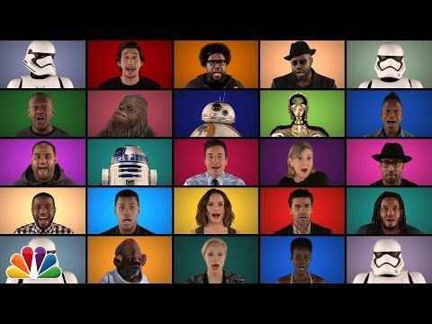 "The ""Star Wars"" Cast Recorded An A Cappella Version Of The Famous Theme"