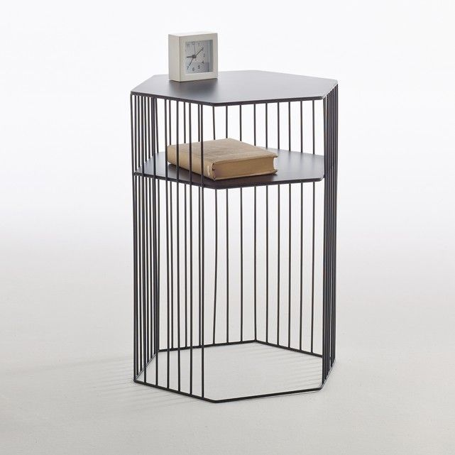 Image Topim Metal Wire Bedside Table La Redoute Interieurs