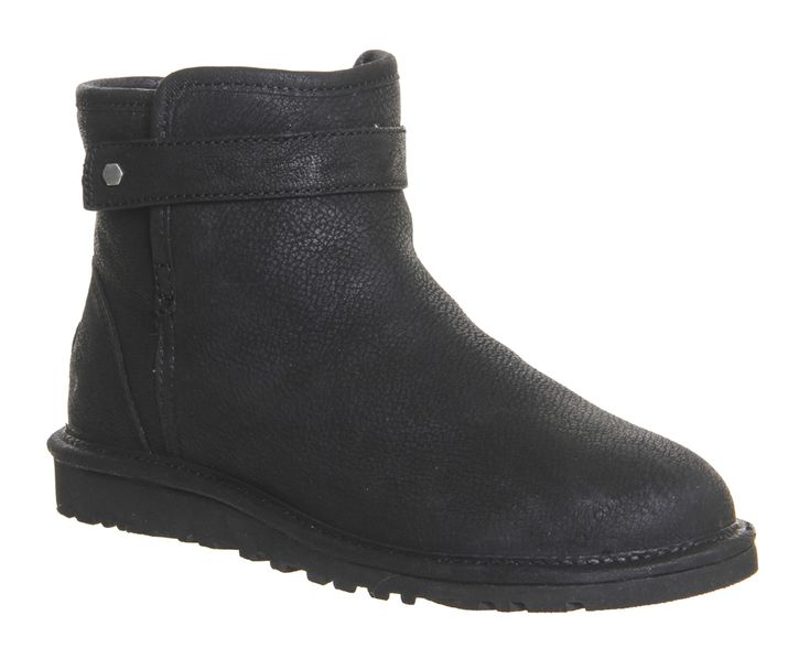 Buy Black Nubuck UGG Australia Rella Boots from OFFICE.co.uk.