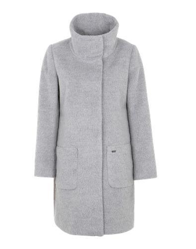 #JETTE #Damen #Wollmantel #grau Warm sollst Du es haben, und dabei auch noch gut aussehen. Der Wollmantel von Jette erfüllt beides zu unserer größten Zufriedenheit. Wärmendes Futter trifft auf eine Filzoptik und einen klassisch geraden Schnitt. So kann der Winter kommen!