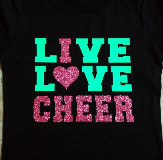 chan luu jewelry glitter neon live love cheer