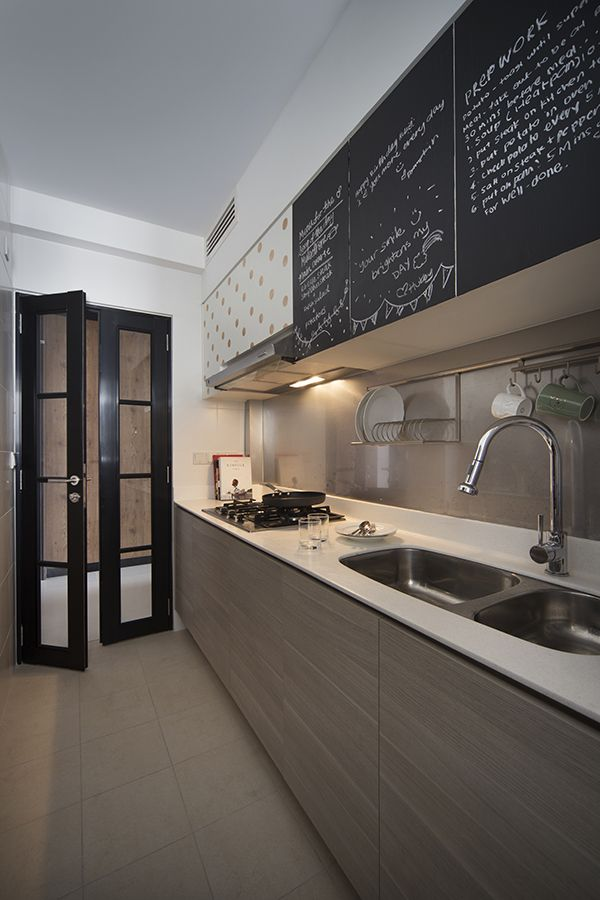Kitchen Design Ideas: 8 Stylish And Practical HDB Flat Gallery Kitchens