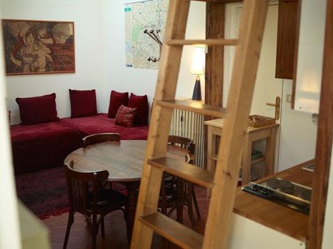 Studio to rent in Montmartre Paris- !! living in paris, specifically Montmartre is on my life list.