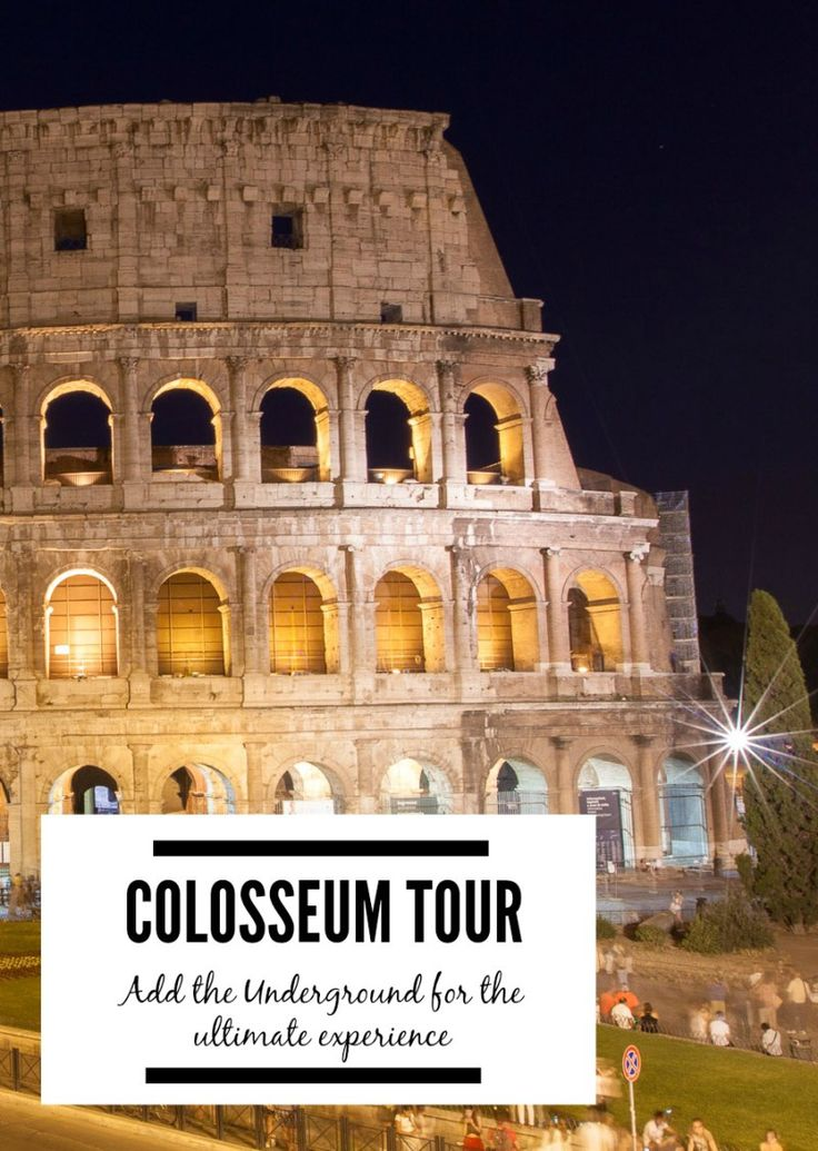 """The Colosseum in Rome is a """"must see."""" Elevate your experience by adding the underground to your tour! It gives you exclusive access to more of this massive structure. 