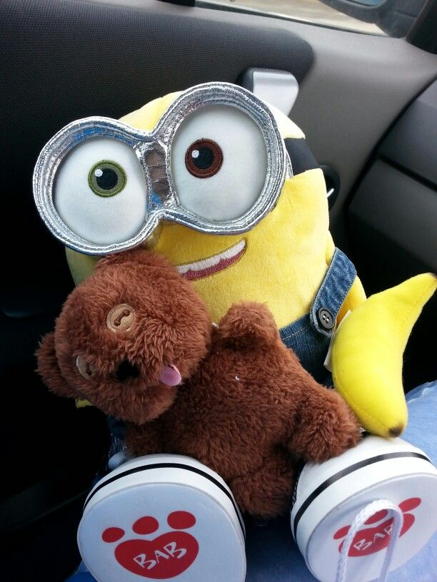 My Build A Bear Minion.Bob