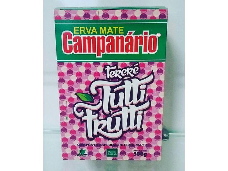 Erva Mate CAMPANÁRIO Tutti Frutti 500g