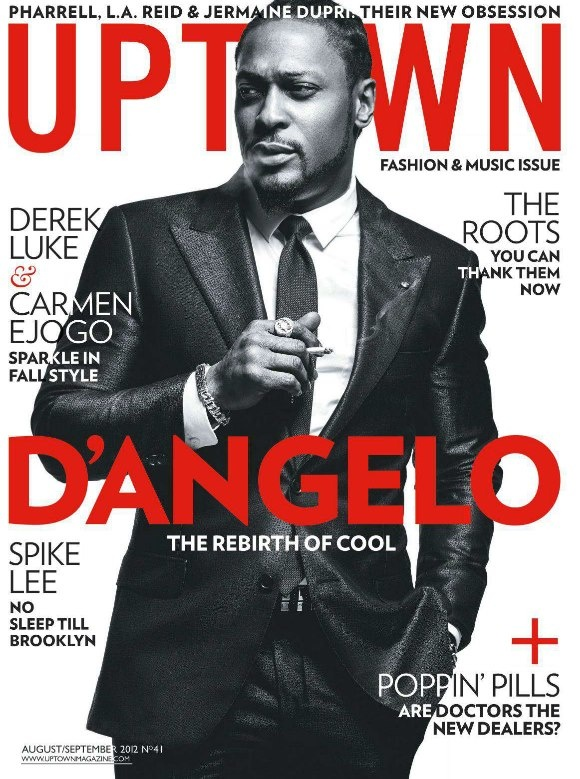 D'Angelo Covers Latest Issue of Uptown