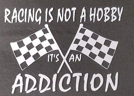 Racing  Racing Decal  Racing Sticker  Racing Is Not A Hobby