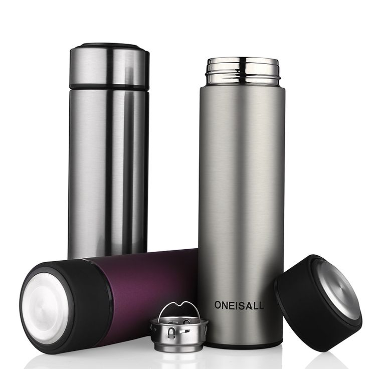 450MLThermos Cup Stainless Steel Thermo Cup with tea infuser Insulated Thermos Coffee Mug Thermal Bottle Auto Car Mug Vacuum