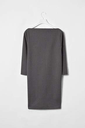 Beautiful simplicity.: Grey Shift, Beautiful Simplicity Repin, Wolf Cubs, Shift Dresses, Grey Tunics, Ships, Charcoal Shift, Classic Chic, Jane Charcoal