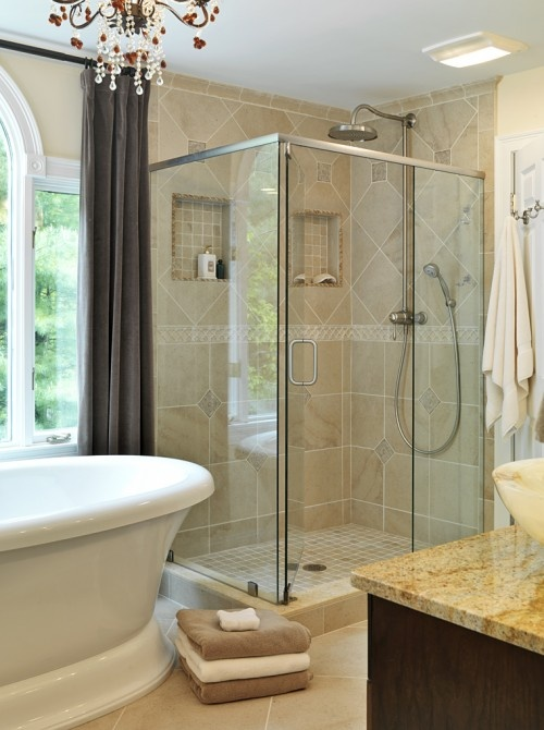 A Little Pampering From Sudbury Kitchens And Baths Custom Kitchen Bath Cabinet Design
