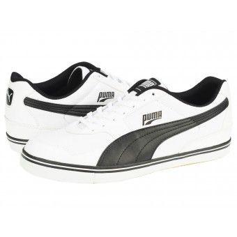 Pantofi sport barbati Puma Paulista 2.0 white-black