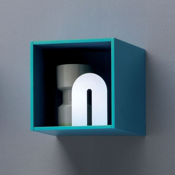 All.Day Squared box - Light blue
