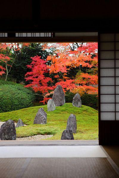 Komyo-in temple, Kyoto, Japan