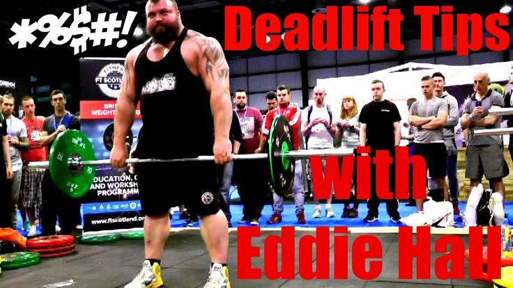 Deadlift Tips with Eddie Hall