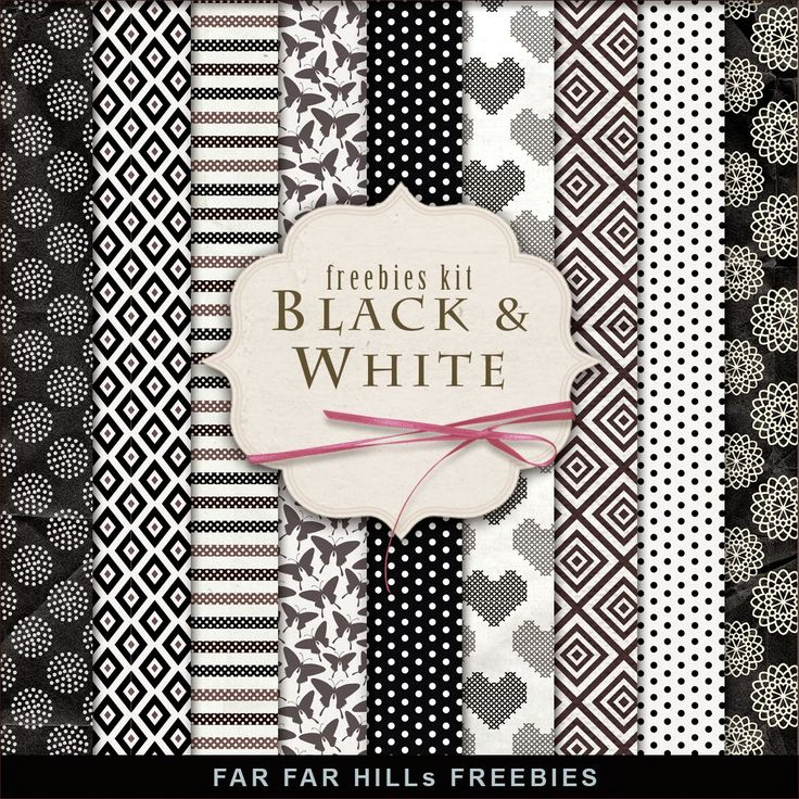 Click HERE to download New Freebies Paper Kit - Black & White. And see other Vintage Freebies. Enjoy! Please, leave a comment. File Info: ZIP file 300 .dpi