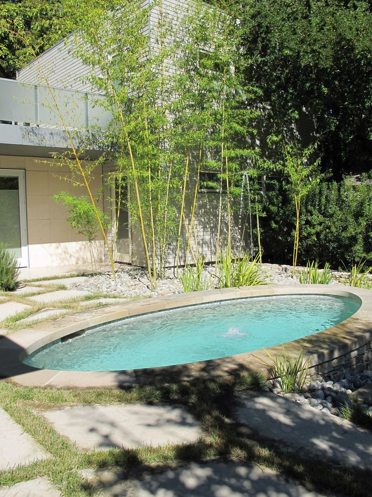 30 best images about small pool on pinterest decks for Garden training pool
