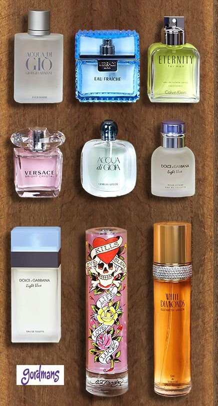Fragrances for him and her make a great gift under the Christmas tree! #gordmans
