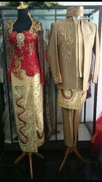 Kebaya pernikahan By Ahan Salon