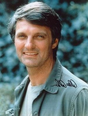 Alan Alda (b. January 28, 1936) I had a crush on him as a young girl. So many M*A*S*H* reruns.