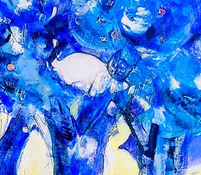 """Il mondo di """"RHA"""".120x80 cm euro 2800 di GRossi Artista su DaWanda.com"""