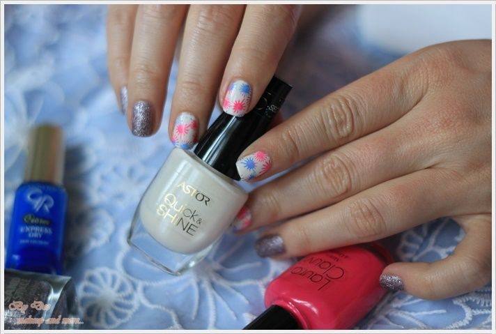 NOTD: Splash ~ By Dee make-up and more