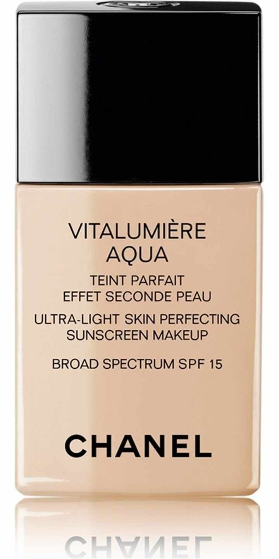 Vitalumire Aqua Ultra Light Skin Perfecting Sunscreen Makeup Broad Chanel Spf 15 Spectrum And