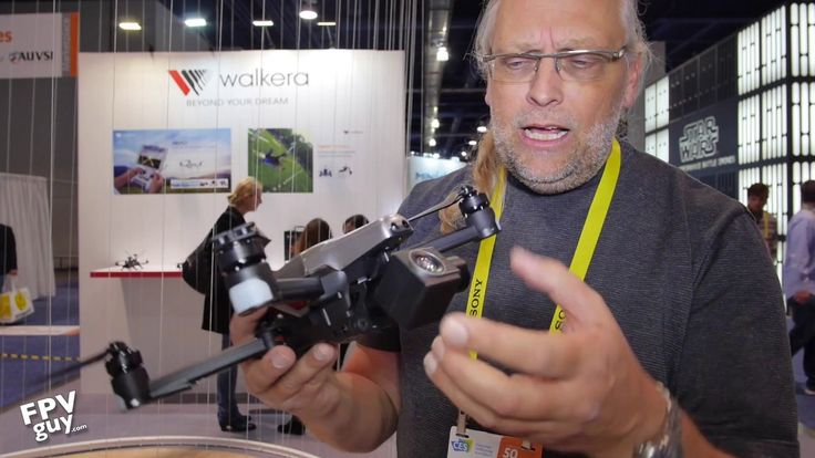 CES 2017 -  WALKERA VITUS  These Mavic clones are everywhere! 2017, the year of the foldable pocket drones.