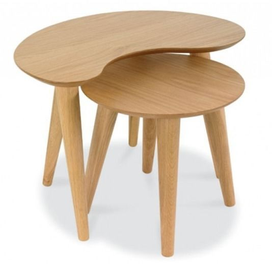 Oslo Nest of Two Tables, Coffee Tables