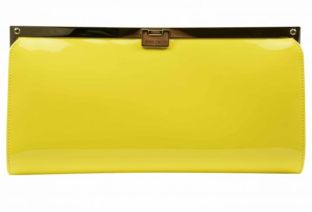 Jimmy Choo yellow Clutch