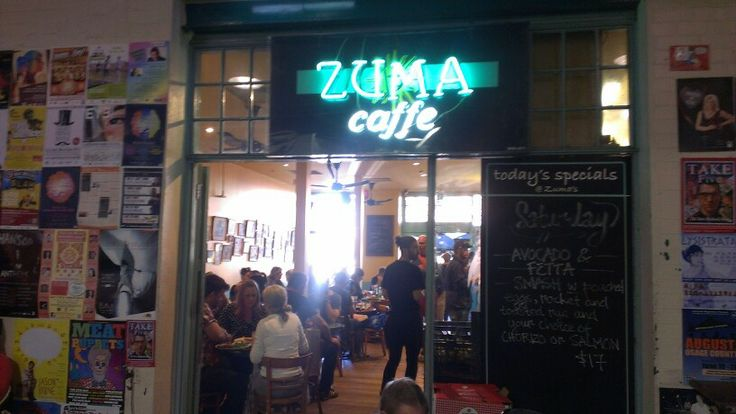 #3 24/5/14 ZUMA CAFFE - Afelaide Central Market (Gouger st end)  Delicious brunch, excellent Di Bella coffee - Very quick service, great market atmosphere ++++