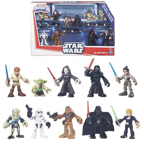 Playskool Heroes Figures - Star Wars Galactic Heroes Galactic Rivals 10-Pack - AS00