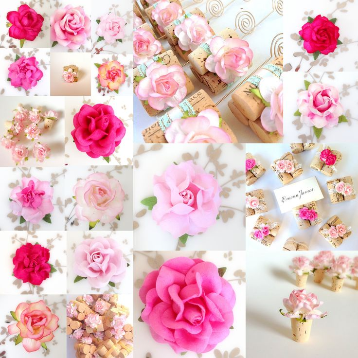 all the shades of pink perfect for a day wedding in custom valentines day card holdersthe