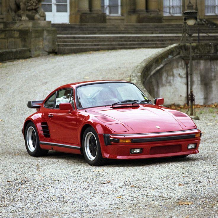 #Porsche 930 Turbo Slantnose