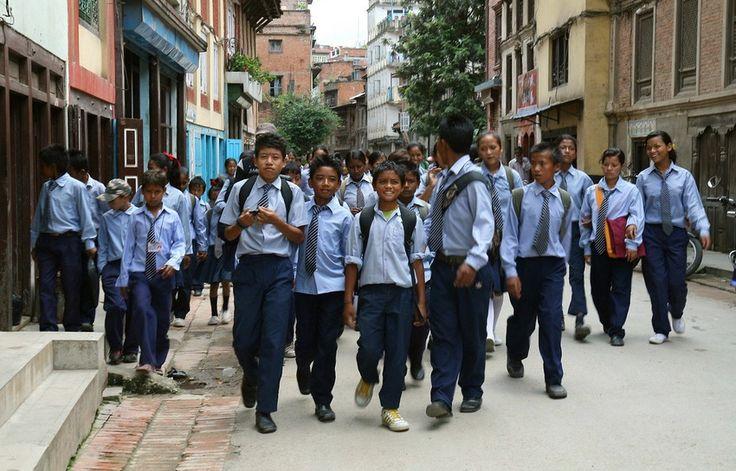 Uniforms in Nepal  #school #education