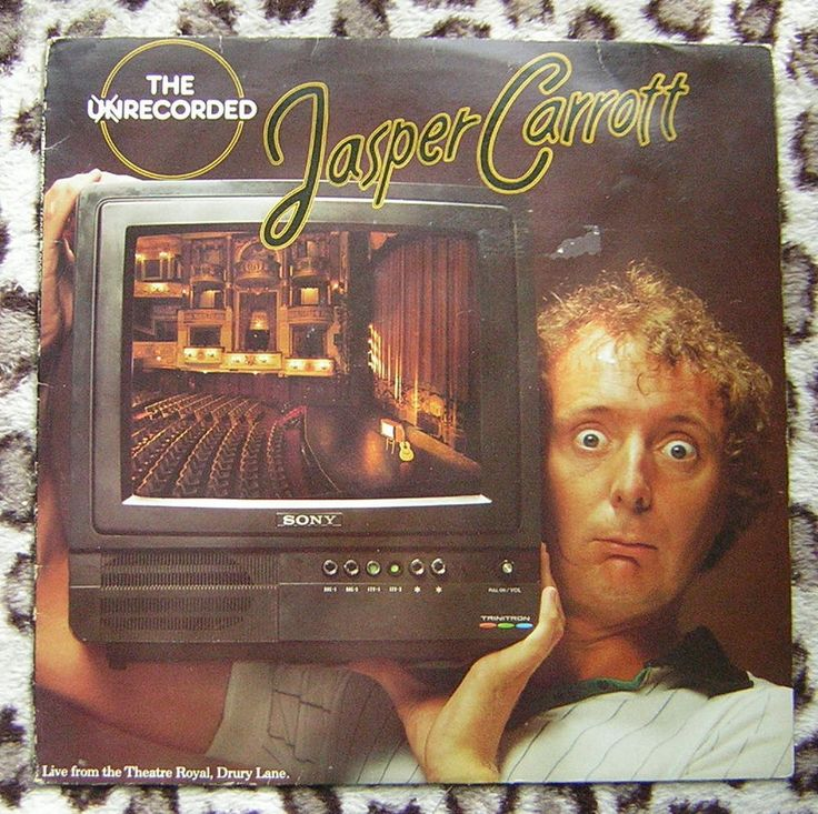 Jasper Carrott - The Unrecorded Vinyl LP