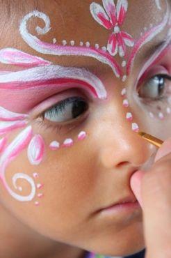 Paso a paso maquillaje para niños en Halloween