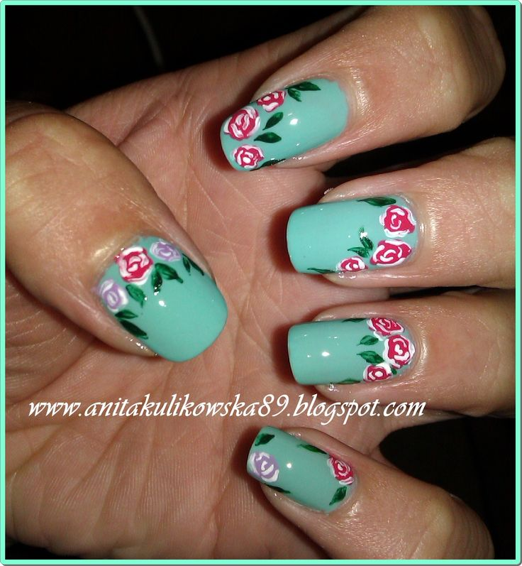 Roses with mint :)