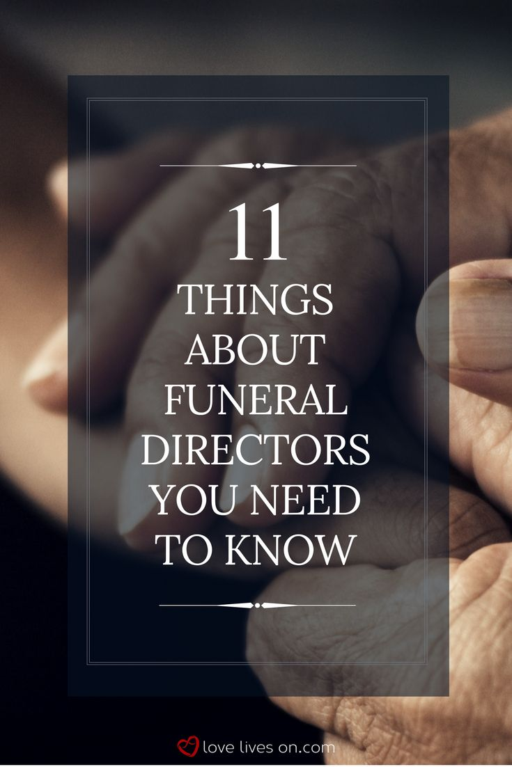 Funeral Directors | 11 Things About Funeral Directors You Need to Know. Click to learn the true intentions of most funeral directors & facts that will help you avoid the scam artists that prey on grieving families.