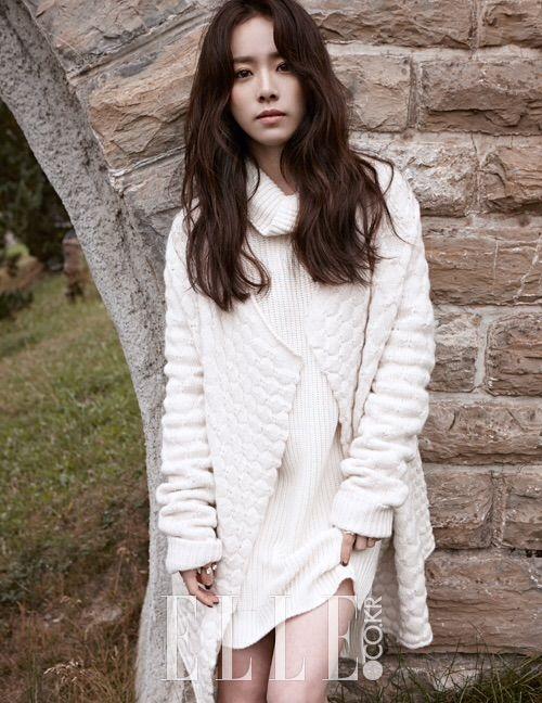 Han Ji Min Wanders the Hills of Switzerland for Elle Korea Magazine   A Koala's Playground
