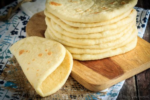 Soft Flatbread Recipe Whether you have gyros, mini pizzas or sandwiches on the menu for tonight, you will want to try this recipe for homemade flatbread. And with only 5 ingredients, you won't have to worry about what is in your food. Click on the link below for the full recipe and directions. You'll be enjoying some flatbread in no time at all. Soft Flatbread Recipe