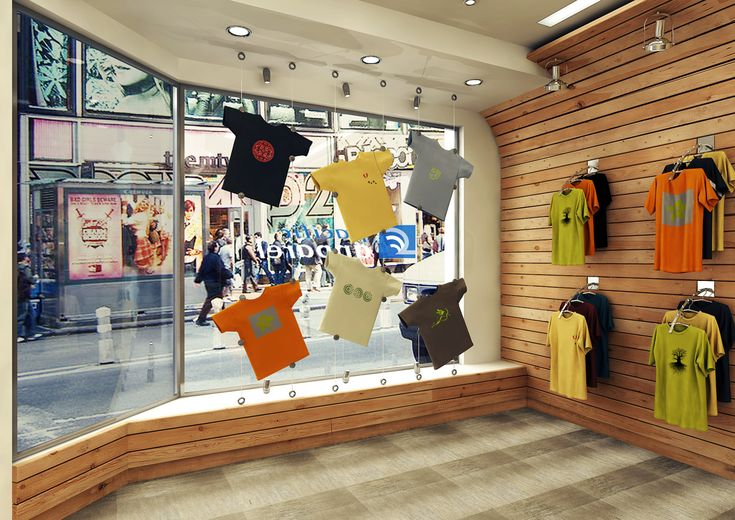 9 Best Idea Gallery T Shirt Displays Images On Pinterest