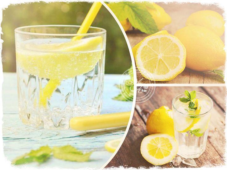 Лимонная вода при похудении