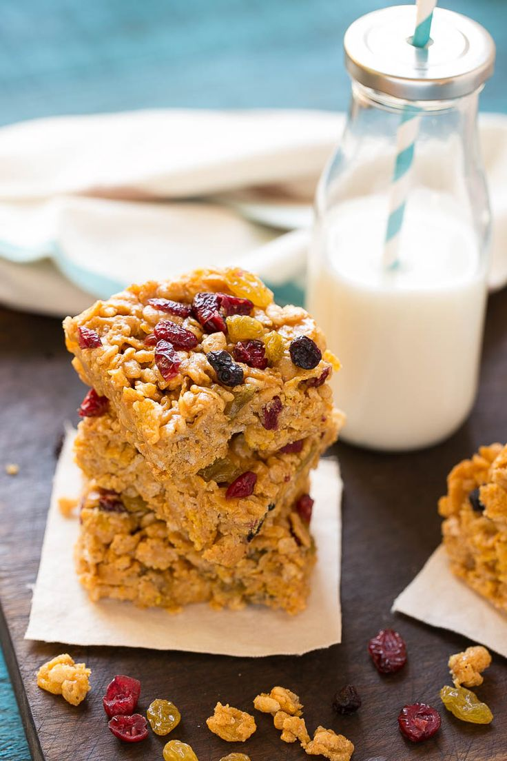 These no-bake breakfast cereal bars are a healthy start to your morning and contain just 5 ingredients.