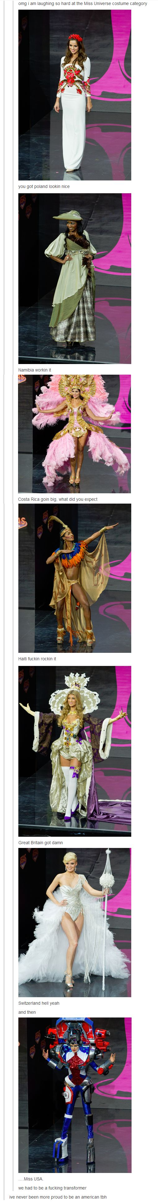 The Sheer Variety of Miss Universe Costumes