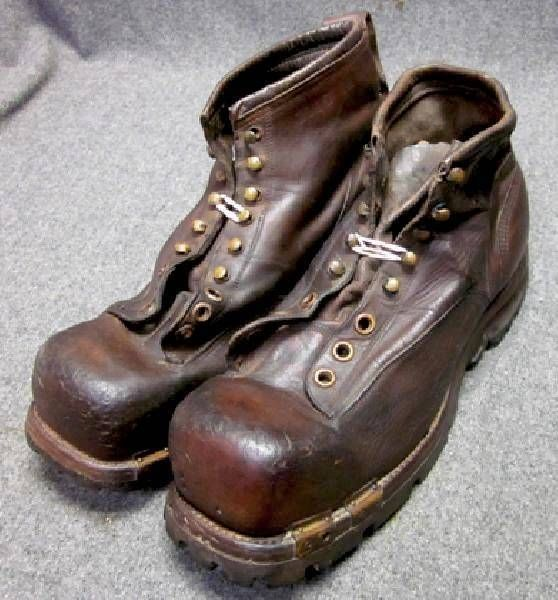 original wwii ww2 us army mountain troop boots vintage