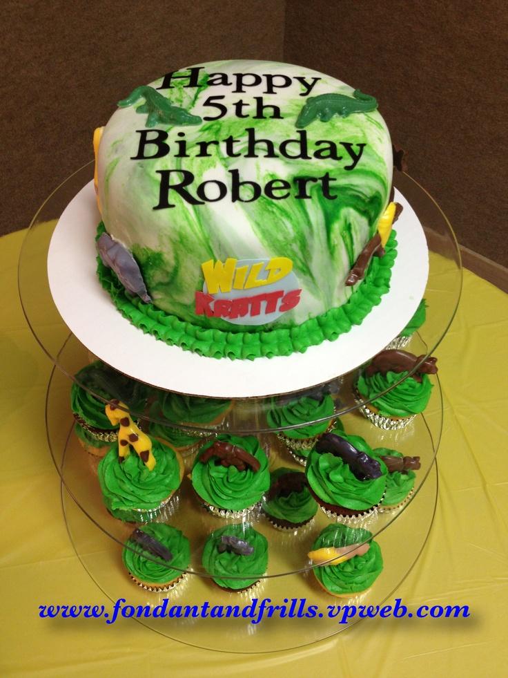 Wild Kratts Animal Cake Cakes Pinterest Wild Kratts