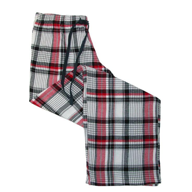 Ten West Apparel Men's Flannel Pajama Pants (Pack of 2)