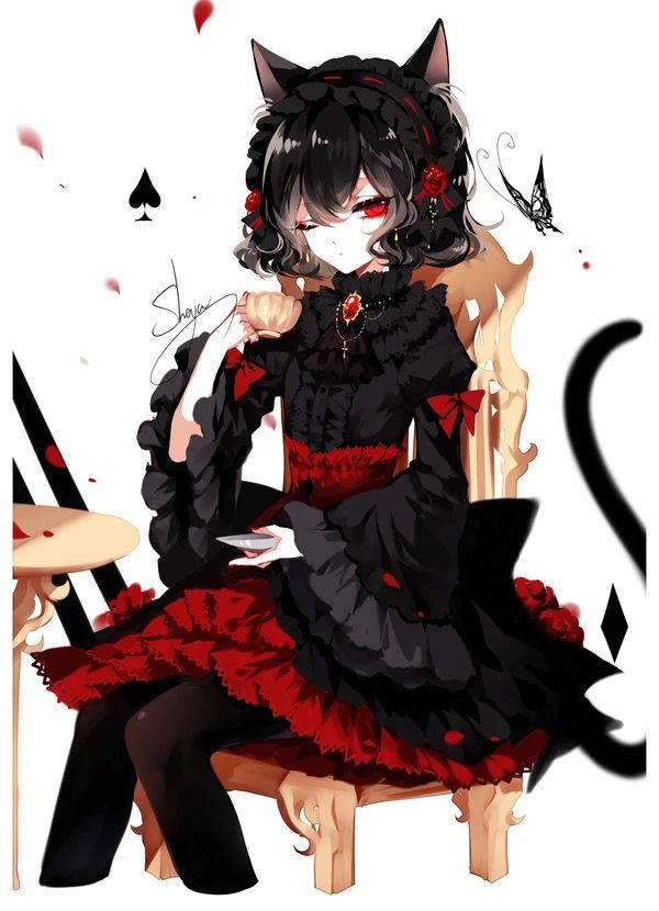 Pin By Laight 15 On Anime Anime Sisters Anime Art Girl Gothic Girl Art