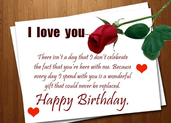 Happy Birthday Wishes Quotes And Images For Love Birthday